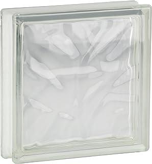 comprar comparacion 8 piezas FUCHS bloques de vidrio nube neutro 19x19x5 cm