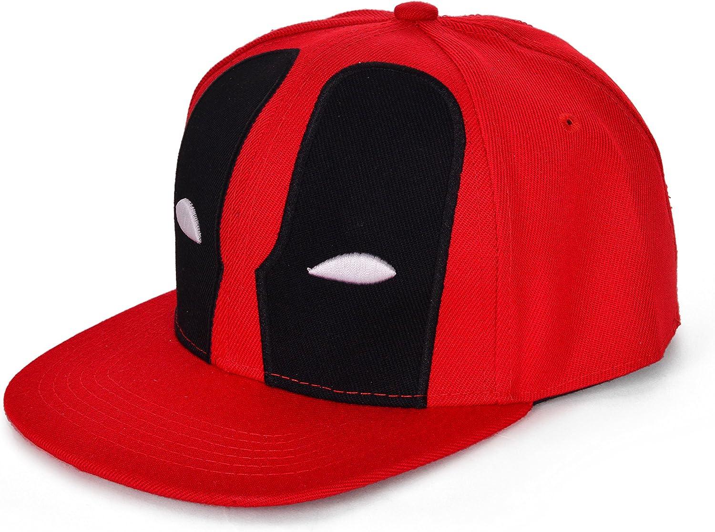 REINDEAR Deadpool Baseball Cap Red free shipping Fashionable Hat Snapback Hip-hop