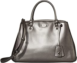 COACH Crossgrain Small Margot Carryall,SV/Pewter
