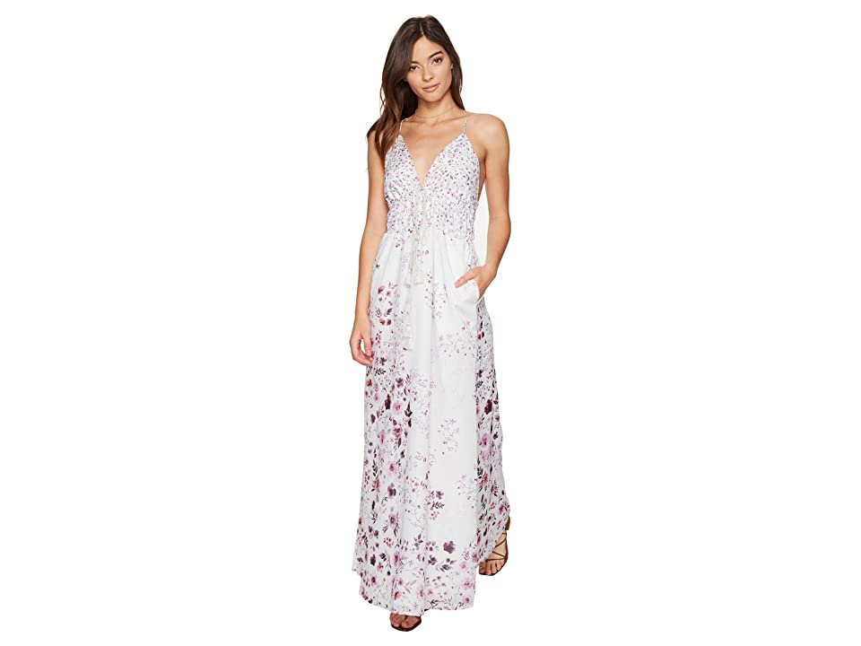 The Jetset Diaries Flora Maxi Dress (Patwork Floral) Women