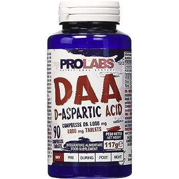 ProLabs Daa Acido D-Aspartico 1000 Mg, 90 Compresse
