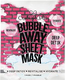 Colorbar Cosmetics Bubble Away Sheet Mask, 28 g