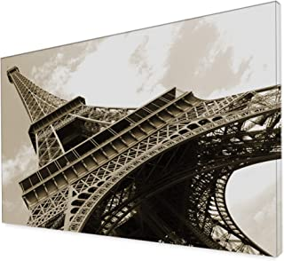 brightmaison City & Architecture Collection 79x55 Extra Large Canvas Wall Photo Art (Eiffel Tower)