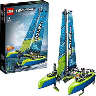 LEGO Technic Catamaran 42105 Model Sailboat Building Kit