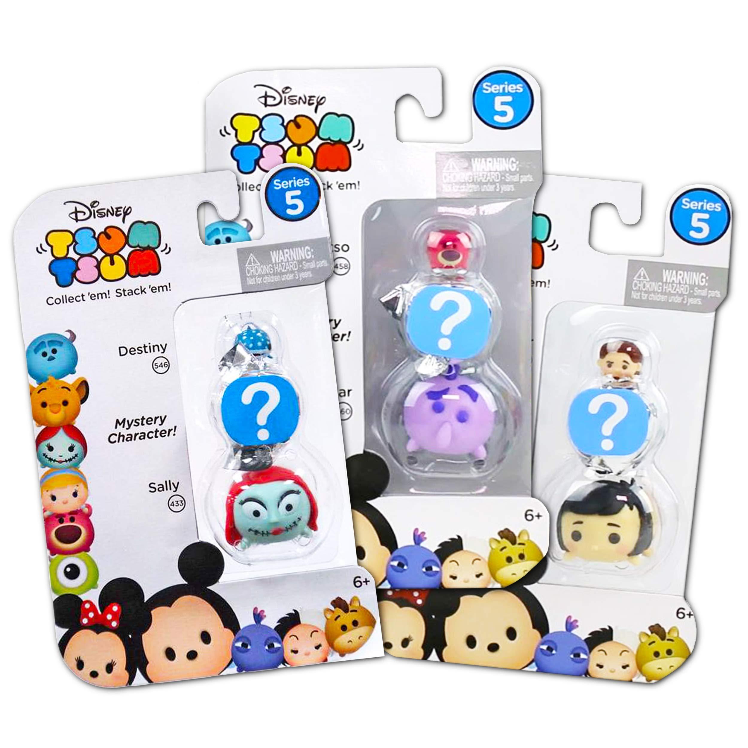 Tsum Tsum Mystery Disney Pack Series 5 - Paquete de 3 Bolsas ...