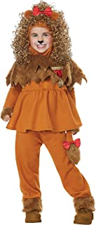 Courageous Lion of Oz Toddler Costume