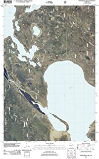 Minnesota Maps - 2011 Bowstring Lake, MN USGS Historical Topographic - Cartography Wall Art - 44in x 61in