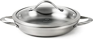 Calphalon Contemporary Stainless Steel Cookware, Everday Pan, 10-inch