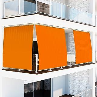 Tenda Da Sole per esterno a Caduta per Balconi con Anelli Tessuto IMPERMEABILE Ombreggiante Antimuffa Teli Parasole Gazebo...