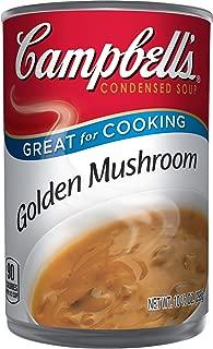 Campbell'sCondensed Golden Mushroom Soup, 10.5 oz. Can (Pack of 12)