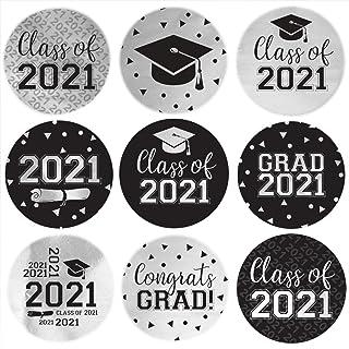 One inch graduation sticker Graduation Nursing School Pink Gold Envelope seals Navy RN Avery Labels