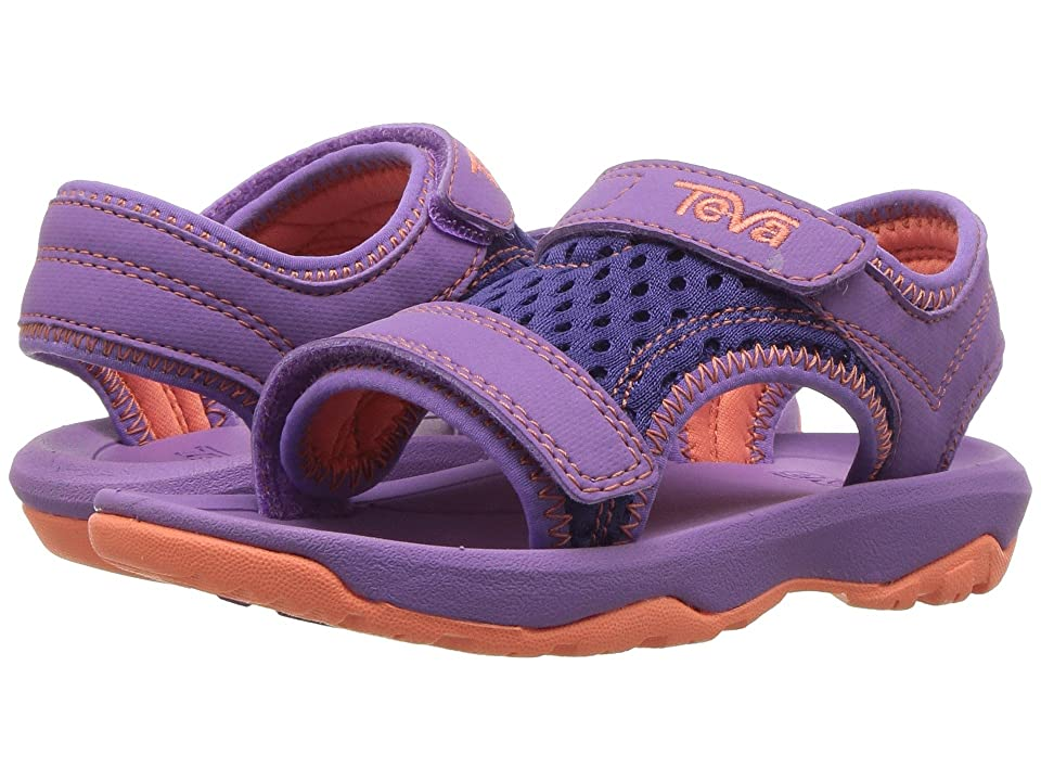 0b6be688f88b9e Teva Kids Psyclone XLT (Toddler) (Purple) Girls Shoes
