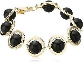 "Noir Jewelry""Orbit"" Semiprecious Kuiper Belt Bracelet"