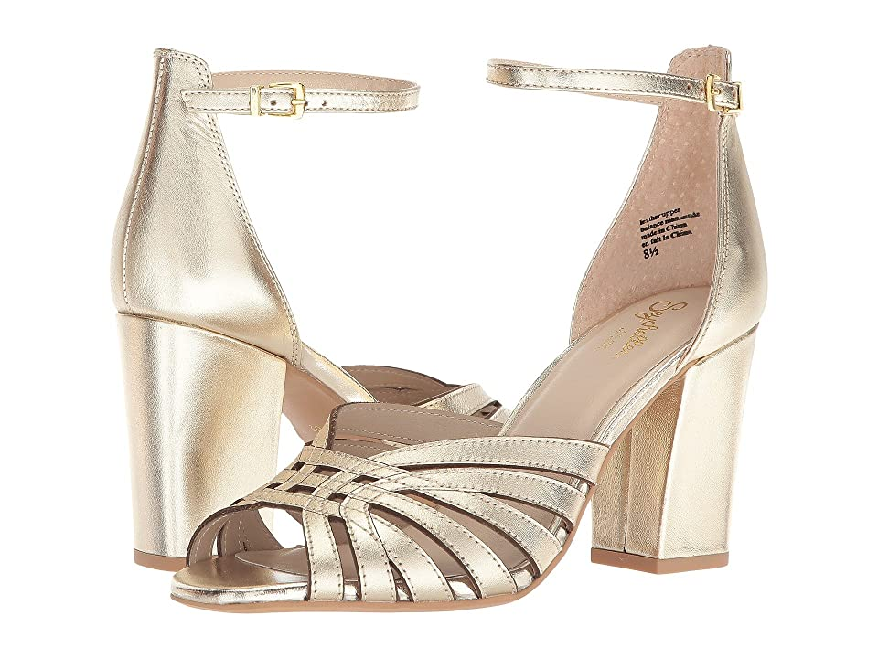 Seychelles Darkest Before Dawn (Gold Leather) High Heels