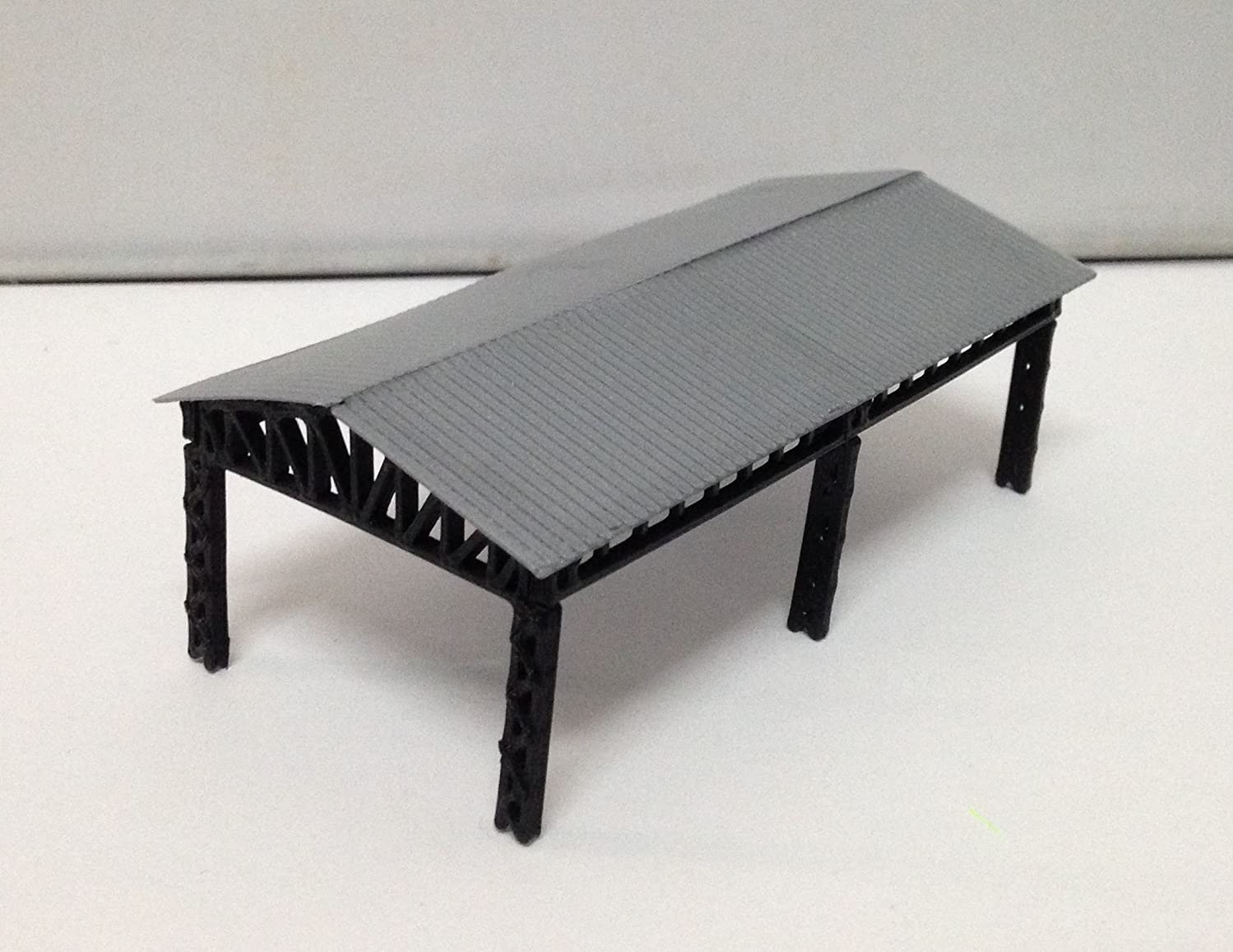Outland Models Train Railroad Large Open Shed for Station / Factory Z Scale
