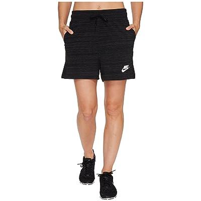 Nike Sportswear Advance 15 Short (Black/White) Women