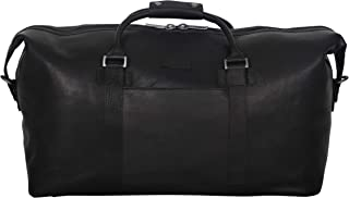 """Kenneth Cole Reaction I Beg To Duff-er Full-Grain Colombian Leather Top Zip 20"""" Carry-On Duffel Travel Bag"""