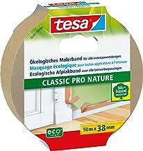 tesa Schildertape CLASSIC Pro Nature voor alle standaard schilderwerk, ecologisch, 50 m: 38 mm