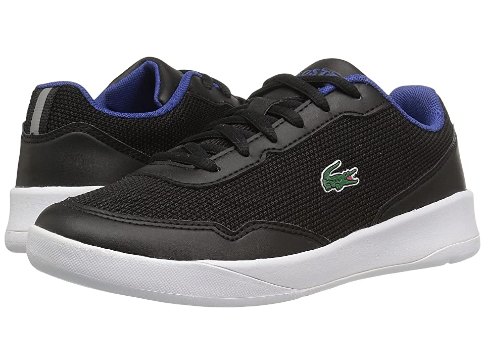 Lacoste Kids LT Spirit 117 1 SP17 (Little Kid/Big Kid) (Black/Black) Kids Shoes