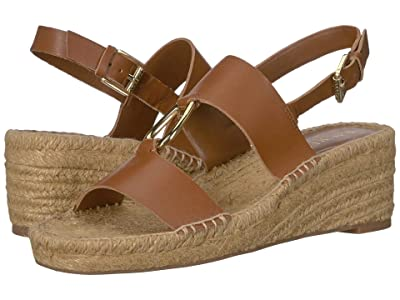 LAUREN Ralph Lauren Bena (Deep Saddle Tan Burnished Vachetta) Women