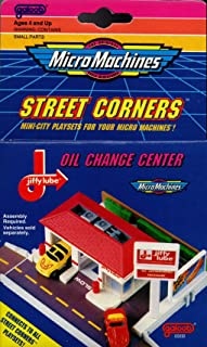 Micro Machines STREET CORNERS OIL CHANGE CENTER PLAYSET