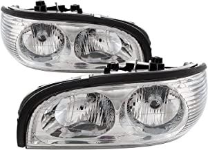 Sponsored Ad - PERDE Chrome Headlights with Performance Lens Driver/Passenger Pair Compatible with Buick Park Avenue