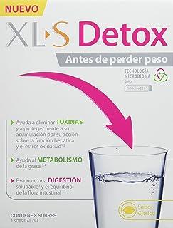 comprar comparacion XLS Medical Detox - Ayuda a Eliminar Toxinas, al Metabolismo de la Grasa y Favorece una Digestión Saludable, 8 Sobres