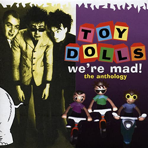 James Bond Lives Down Our Street By The Toy Dolls On Amazon