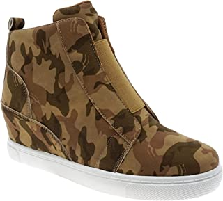 MVE Shoes Womens Stylish Pierre Dumas Comortable High Top Sneaker