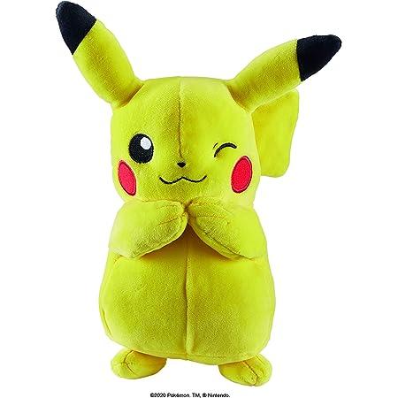 Pokemon- Plush-Pikachu 20 cm, 36345, Multicolore