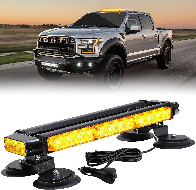 "YITAMOTOR 18"" LED Strobe Directly Popularity managed store Flashing High 30 Bar Light Int"