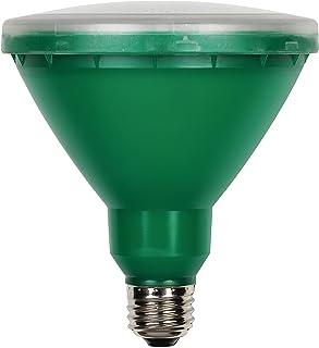 Westinghouse 0314900 15W PAR38 LED Outdoor Bulb, Flood Green E26 (Medium) Base,