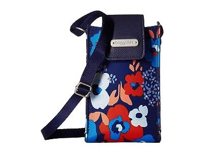 Baggallini New Classic RFID Phone Crossbody (Spring Bloom) Cross Body Handbags