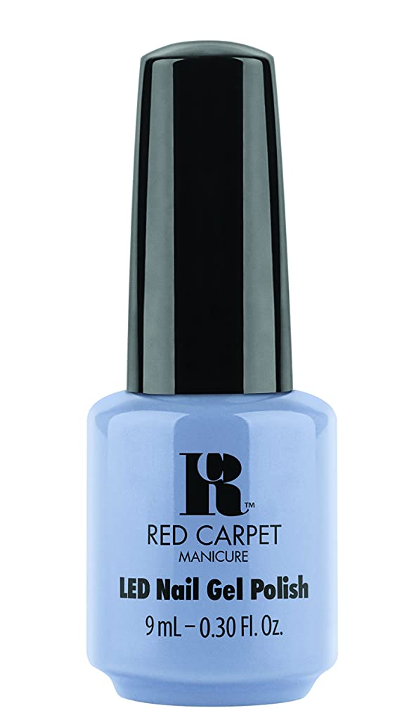 確執興奮無法者Red Carpet Manicure - LED Nail Gel Polish - Blue-Delicious - 0.3oz / 9ml