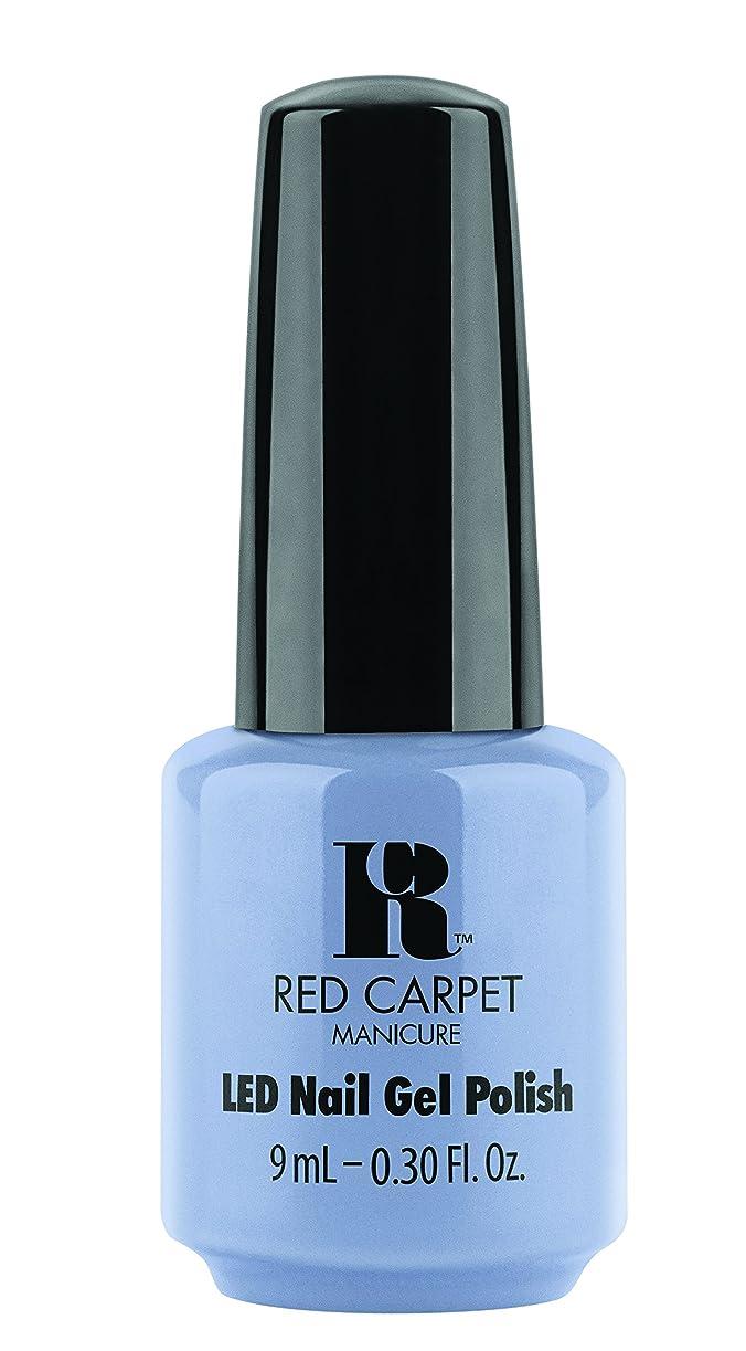海軍ブートビーズRed Carpet Manicure - LED Nail Gel Polish - Blue-Delicious - 0.3oz / 9ml