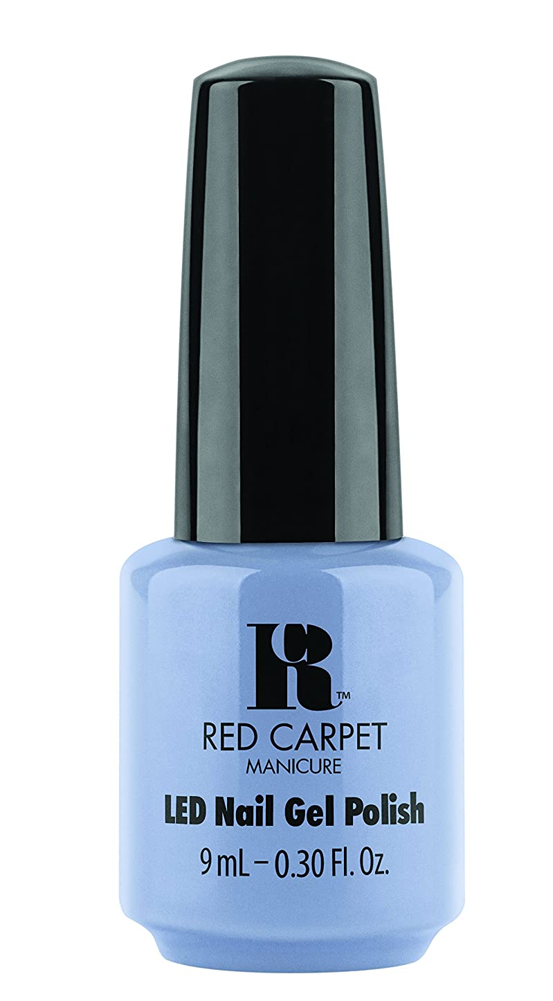 溶接大胆不敵パキスタン人Red Carpet Manicure - LED Nail Gel Polish - Blue-Delicious - 0.3oz / 9ml