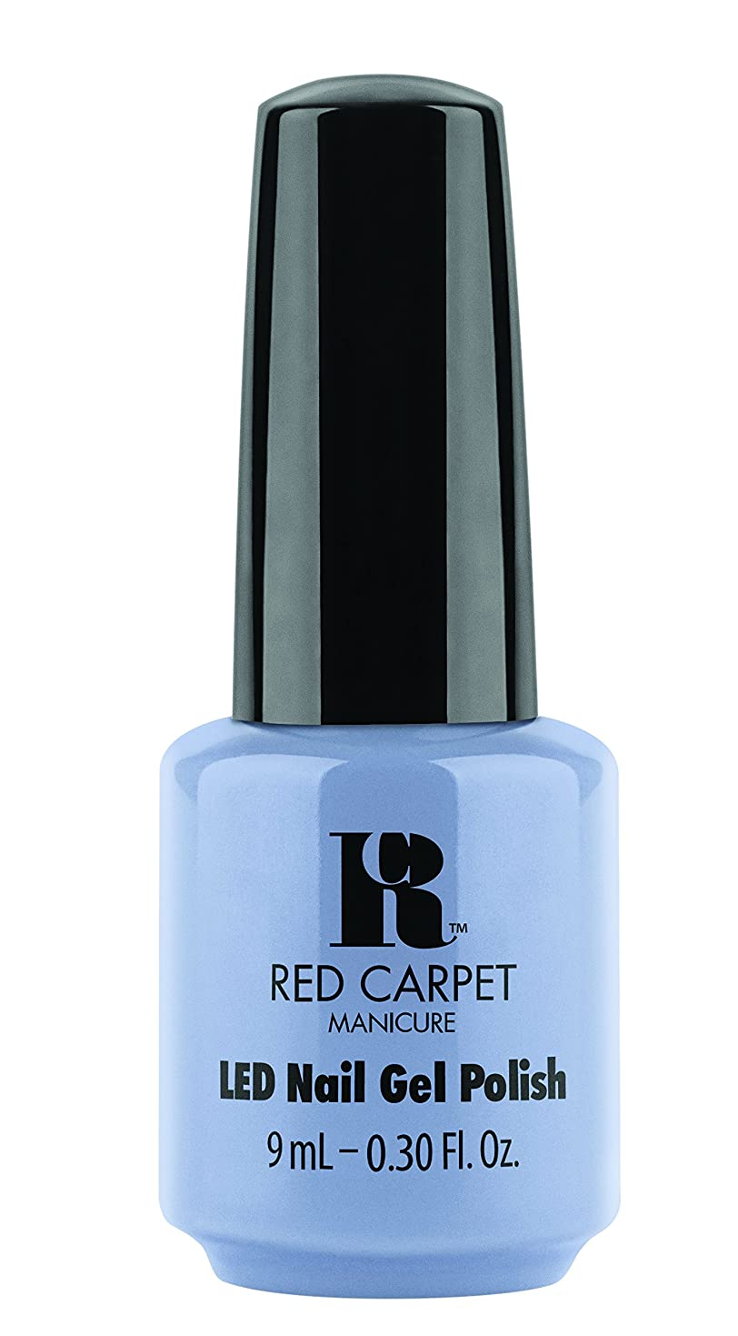 地図レース洞窟Red Carpet Manicure - LED Nail Gel Polish - Blue-Delicious - 0.3oz / 9ml