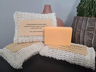 3.5 oz. Lemongrass Goat Milk and Coconut Oil Bar Soap