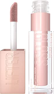 Maybelline Lip Lifter Gloss Hydrating Lip Gloss with Hyaluronic Acid, Ice, 0.18 Ounce