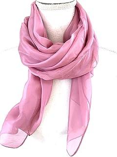 Solid Color Women's Chiffon Scarf, Shawl, Pashmina, Wrap. Beautiful Soft Sheer Light Weight Latest Fashion.