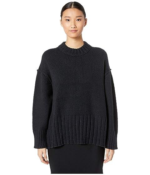 GREY Jason Wu Wool Blend Crew Long Sleeve Sweater
