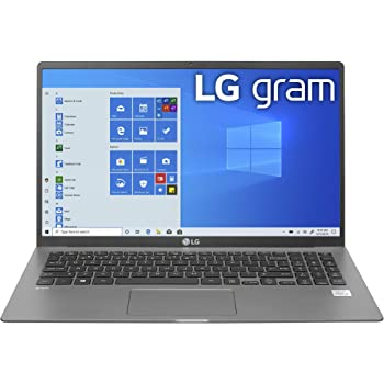 "LG gram Laptop - 15.6"""" IPS Touchscreen, Intel 10th Gen Core i7-1065G7 CPU, 8GB RAM, 256GB M.2 NVMe SSD, 17 Hours Battery, Thunderbolt 3 - 15Z90N-R.AAS7U1 (2020)"