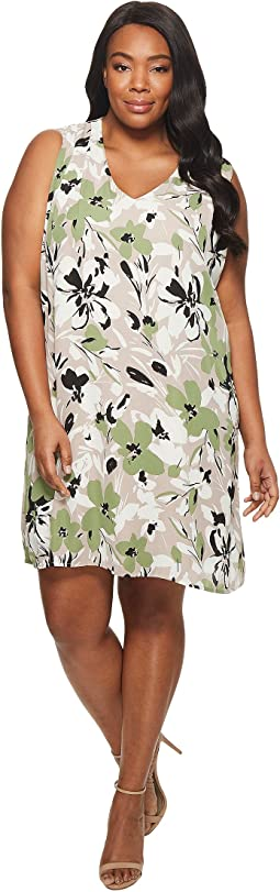 B Collection by Bobeau - Plus Size Iban Shift Dress
