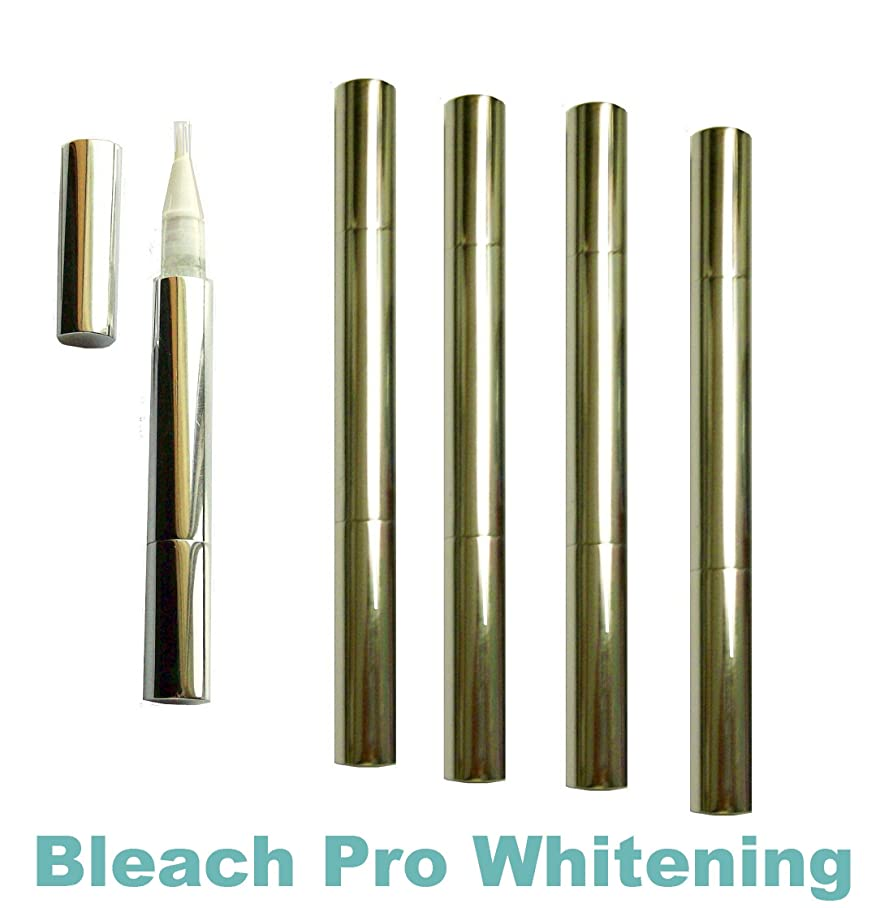 不屈活発フレアTeeth Whitening Gel Pens 35% Carbamide Peroxide Tooth Bleaching Formula Pen with Brush Tip Gel Dispenser. 5 Whitening Pens. by Bleach Pro Whitening
