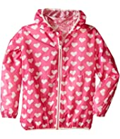 Hatley Kids - Pink Hearts Wind Breakers (Toddler/Little Kids/Big Kids)