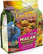 F.M. Brown's Tropical Carnival Gourmet Macaw Food Big Bites for Big Beaks, 5-lb Bag - Vitamin-Nutrient Fortified Daily Die...