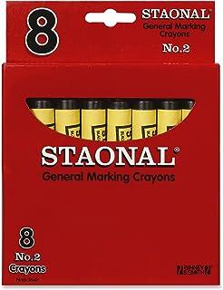 Crayola Bulk Extra Large Marking Crayons, Black,8 Count