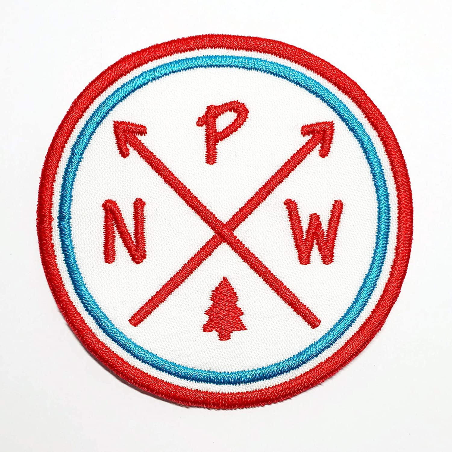 PNW NEW Pacific Northwest Patch Iron-on NEW before selling ☆ Embroider Applique or Sew-on