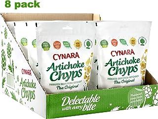 NEW Cynara Artichoke Chyps, Original, 8 pack case, 1.76 oz bags, Non-GMO Verified, Gluten Free, Vegan, High Fiber
