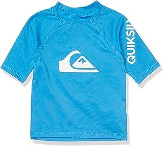 Quiksilver Boys' Little Time Short Sleeve Rashguard Surf Shirt